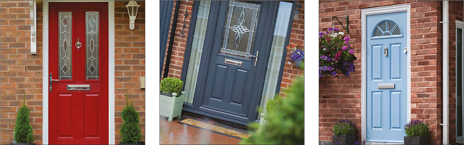 54368b7f2fe Our composite doors can also be coated with hundreds of RAL colours to  choose from.